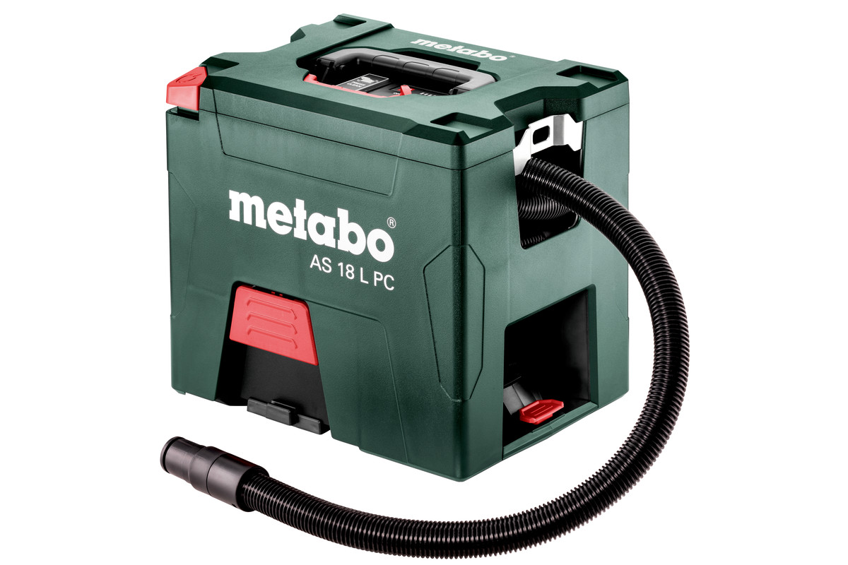 metabo as 18 l pc 602021850 akku sauger staubsauger. Black Bedroom Furniture Sets. Home Design Ideas